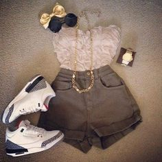 best cheap 515b4 f6423 I lalaLOVE this outfit! c  So freaking cute!  lt 3 Short En