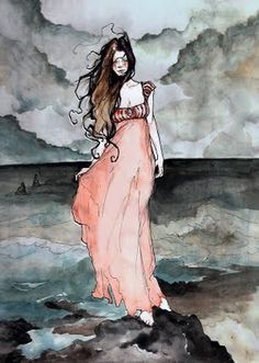 Annabel Lee based on the poem by Edgar Allen  Poe, by Abigail Larson