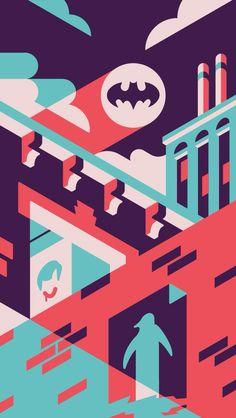 Minimal Gotham now graces my phone wallpaper