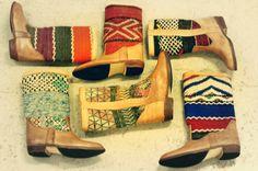 Kilim boots from www.keliboots.com
