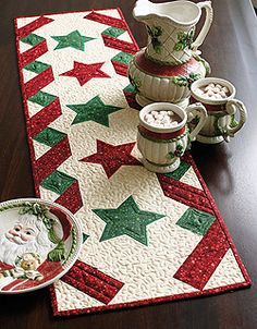 Stars & Ribbons Table Runner
