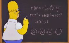 Homer Simpson predicted the mass of the Higgs boson particle 14 years before   it was discovered, a writer claims