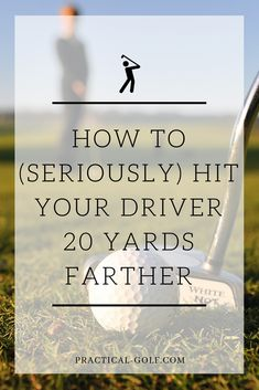 Golf Tips Swing How to seriously hit your driver 20 yards farther Famous Golf Courses, Public Golf Courses, Golf Ball Crafts, Golf Trolley, Used Golf Clubs, Golf Club Grips, Golf Club Sets, Golf Drivers, Golf Putting