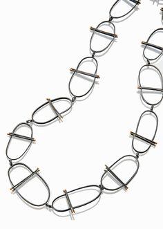 NK112 Girona chain necklace   Sydney Lynch