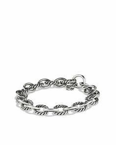 Oval Link Bracelet by David Yurman at Neiman Marcus.