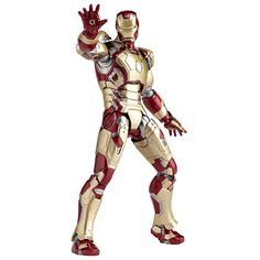 MegaOtaku - SCI-FI Revoltech Series No. 049 IRON MAN Mark 42