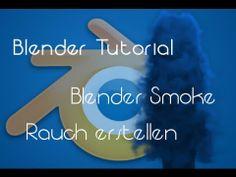Blender Smoke - Rauch Simulation