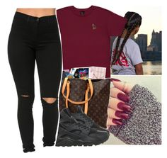 """""""Untitled #552"""" by oh-thatasia ❤ liked on Polyvore featuring October's Very Own and NIKE"""