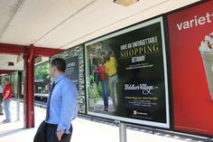 Shop the day away at Peddler's Village! This ad can be spotted on the platforms of the Long Island Railroad and Metro North transit lines.