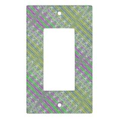 Colorful Lightswitch Plate Cover #zazzle #homedecor #style