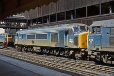 Electric Locomotive, Diesel Locomotive, Double Header, Train Room, British Rail, Old Trains, Diesel Engine, Manchester, Planes