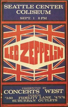 Led Zeppelin's 1971 Pacific Coliseum is a classic fillmore era concert poster. If you have this poster, contact Vintage Rock Posters for a cash rewards. Tour Posters, Band Posters, Vintage Concert Posters, Vintage Posters, Robert Plant, Pop Rock, Rock And Roll, Rap Us, Concert Rock