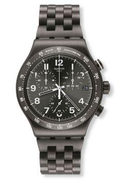 montre chrono acier soho swatch YVM402G
