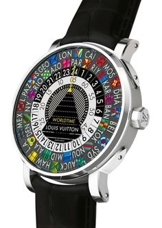 This would be so random to have...Escale Worldtime by Louis Vuitton
