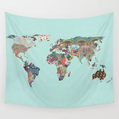 Louis+Armstrong+Told+Us+So+Wall+Tapestry+by+Bianca+Green+-+$39.00