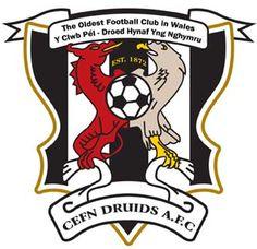 1872, Cefn Druids A.F.C. (Wrexham, Wales) #CefnDruidsA.F.C. #Wrexham #Wales (L9469)