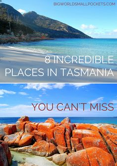To give you a taste of the amazing, yet often-forgotten south corner of Australia, here are 8 incredible Tasmania attractions you can't miss. Tasmania Road Trip, Tasmania Travel, Australia Travel Guide, Visit Australia, Queensland Australia, Western Australia, Attraction, Airlie Beach, Trip Planning
