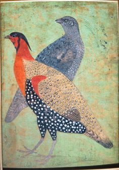 The Freer Gallery of Art and the Arthur M. Sackler Gallery are the Smithsonian's museums of Asian art. Mughal Paintings, Indian Paintings, Art Asiatique, Iranian Art, Inspiration Art, Bird Illustration, Illustrations, Medieval Art, Art Design