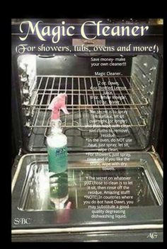 Magic, all purpose cleaner!