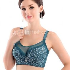 Full Coverage Bras, Underwire Bra Lace/Polyester 2017 - £11.7