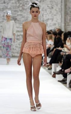 this would make the cutest bathing suit!   Zimmerman