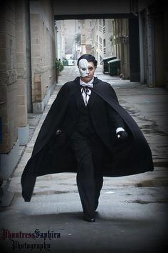 Erik (Phantom of the Opera)  Cosplayer: Phantress Saphira SacAnime Winter 2013 Sacramento, CA