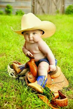 Four 4 month old cowboy baby picture portraits baby boy pic Baby Boy Pictures, Boy Photos, Newborn Pictures, Baby Cowgirl Pictures, 6 Month Baby Picture Ideas Boy, Precious Children, Beautiful Children, Beautiful Babies, Cowboy Baby