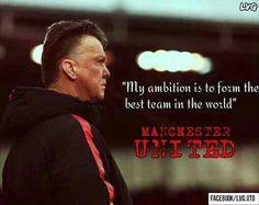 #Soccer #Quote - Louis Van Gaal