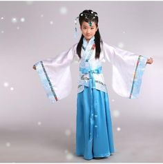 Goods.Site - Children new Chinese costume Hanfu Children's clothes of Tang Dynasty costumes Cosplay party dress 110-140cm