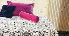 Uma  colcha linda para vestir a sua cama com conforto e luxo que ocê merece!