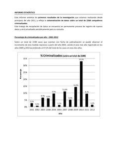 """Informe: """"Criminalizacion de la protesta"""", Organismos de DDHH marzo …"""