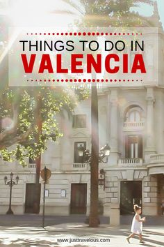 Looking for cool things to do in Valencia? Here are the must-sees and do's when exploring Spain's best kept secret! #Valencia #Spain #citytrip #Europe