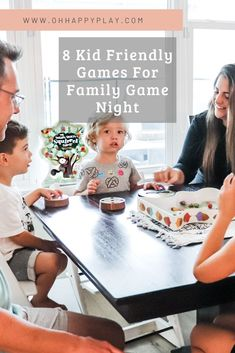 family game night ideas, game night with kids, kid friendly games, Family Game Night, Family Games, Family Activities, Bonding Activities, Number Bond Games, Family Communication, Happy Play, Best Blogs, Top Blogs