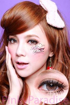 Geo Nudy Brown - Circle Lenses & Color Eye Contacts | Pinkyparadise