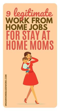 Being able to stay at home with your kids and still make money on your own schedule has to be the best of both worlds. It's definitely possible when you choose the right extra income opportunities that allow you to work from home. Try these! #workathome #mom #sahm #jobs