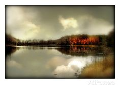 Autumn Lake Photographic Print- Master BR