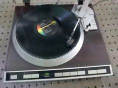 Vintage Denon DP-45F Direct Drive Fully Automatic Turntable System Worki...