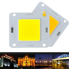 1PC 5W Warm White Color Strip Lamp 12V LED Panel Light COB 100 X 8mm Energy Save