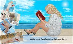 With book 9 poses + 2 bonus secret pose at Rethdis-love via Sims 4 Updates