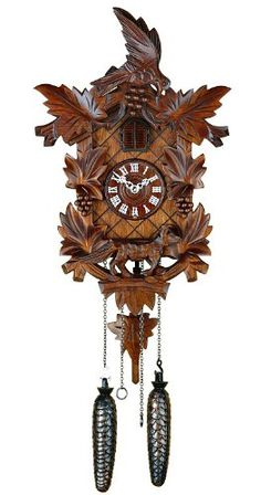 Hekas 1630q Quartz Cuckoo Clock 14 Inch -- Want additional info? Click on the image. (This is an affiliate link and I receive a commission for the sales)