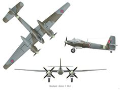 Photographs of the Westland Welkin Royal Air Force high altitude fighter from World War Two. None entered operational service Luftwaffe, Ww2 Aircraft, Military Aircraft, Heinkel He 162, Westland Lysander, Westland Whirlwind, Grumman F6f Hellcat, Hawker Tempest, Hawker Typhoon