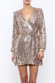 Honey Punch Sequin Dress