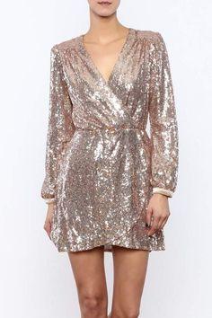 Honey Punch Sequin Dress