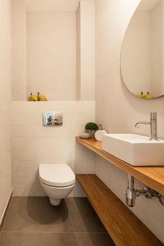 I'm just really looking towards trying out the idea. How to Renovate a Bathroom Small Toilet Room, Guest Toilet, Small Bathroom, Cloakroom Toilet Downstairs Loo, Upstairs Bathrooms, Modern Bathroom Decor, Bathroom Interior Design, Bathroom Colors, Bathroom Ideas