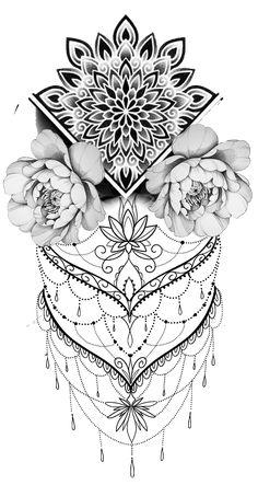 Mandala Tattoo Mandalatattoo Tattoo Templates 1