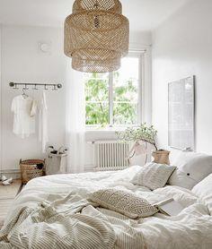 Un appartement blanc et naturel