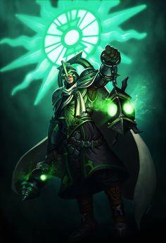 Infinite Crisis MOBA - Arcane Green Lantern