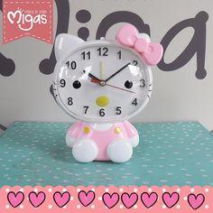 Encuentra en nuestro punto de venta este hermoso reloj Hello Kitty, la gatica que nunca pasa de moda, visitanos CL 37 SUR CR 34- 32 #Envigado #Migas #FábricadeSueños #HelloKitty #Reloj