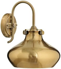 Hinkley Congress Brushed Caramel 9 3/4-Inch-H Wall Sconce - #EU2X517 - Euro Style Lighting