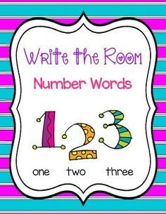 Write the Room - Number Words